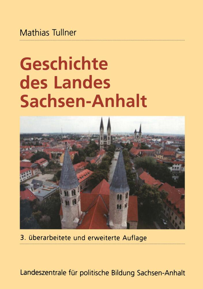 Geschichte des Landes Sachsen-Anhalt als Buch