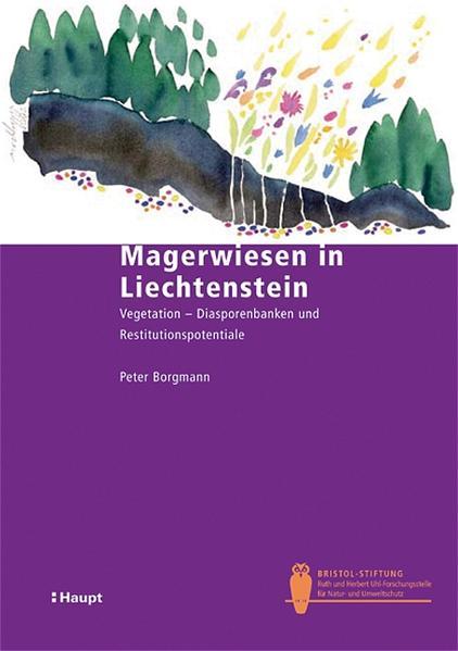 Magerwiesen in Liechtenstein als Buch