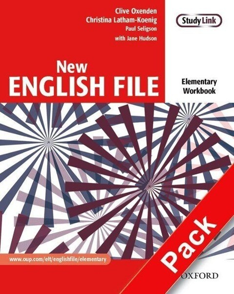 New English File: Elementary: Workbook with key and MultiROM Pack als Buch