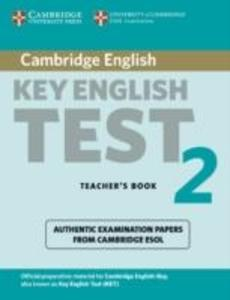 Cambridge Key English Test 2 Teacher's Book: Examination Papers from the University of Cambridge ESOL Examinations als Taschenbuch