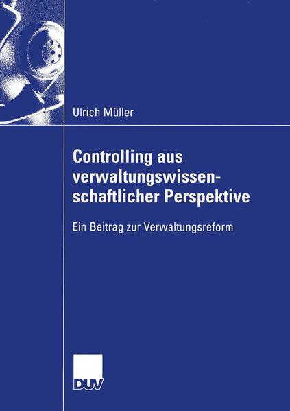 Controlling aus verwaltungswissenschaftlicher Perspektive als Buch