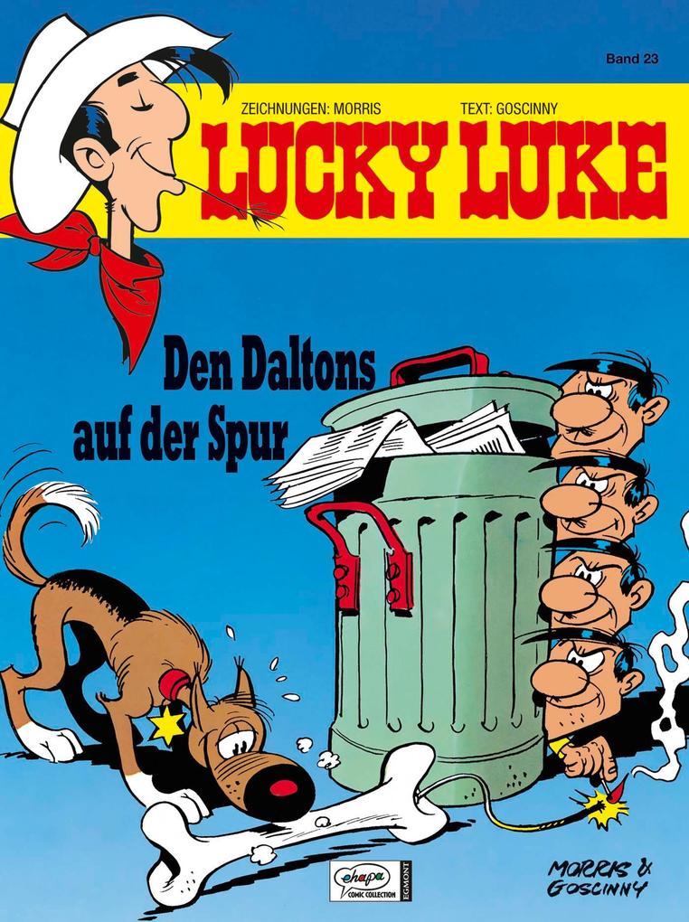 Lucky Luke 23 - Den Daltons auf der Spur als Buch