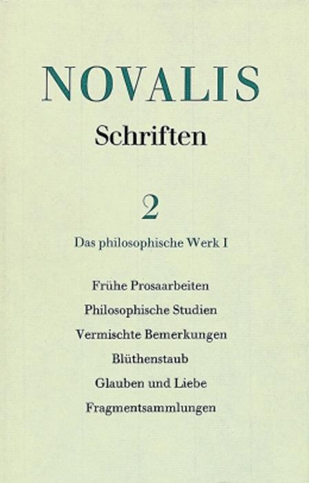 Das philosophische Werk I als Buch