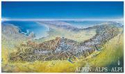 Alpenpanorama Poster