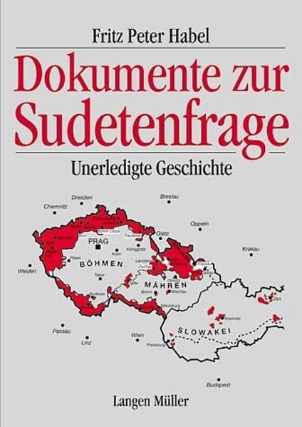 Dokumente zur Sudetenfrage als Buch