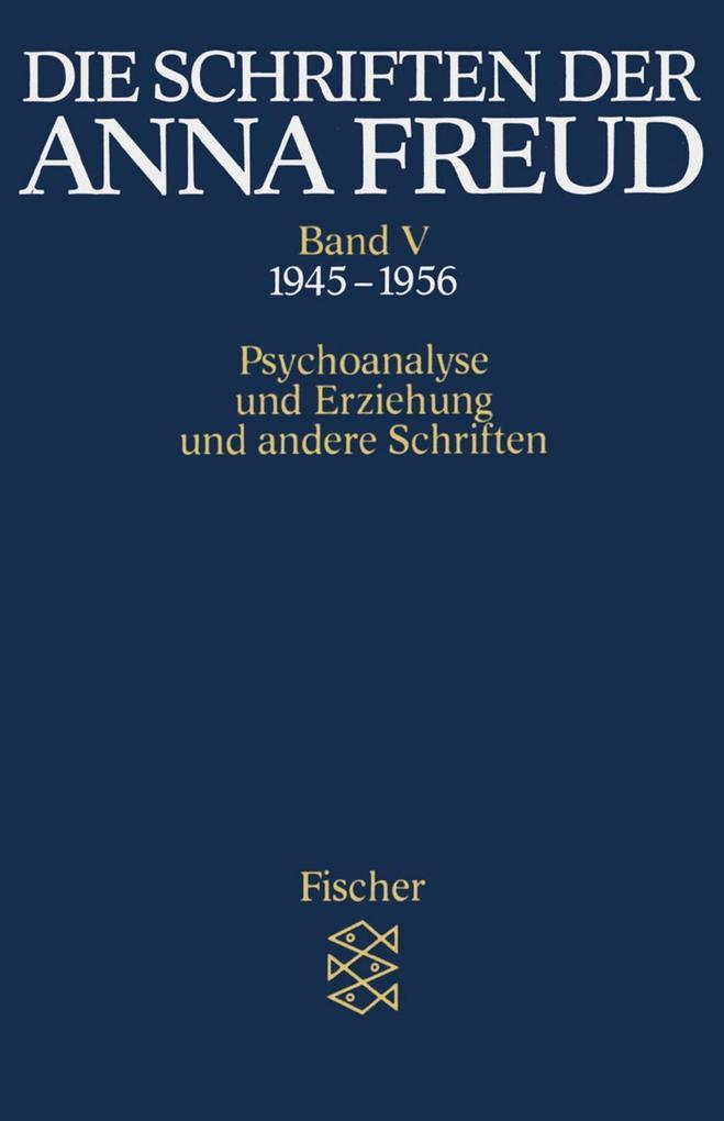 Die Schriften der Anna Freud 05 als Taschenbuch