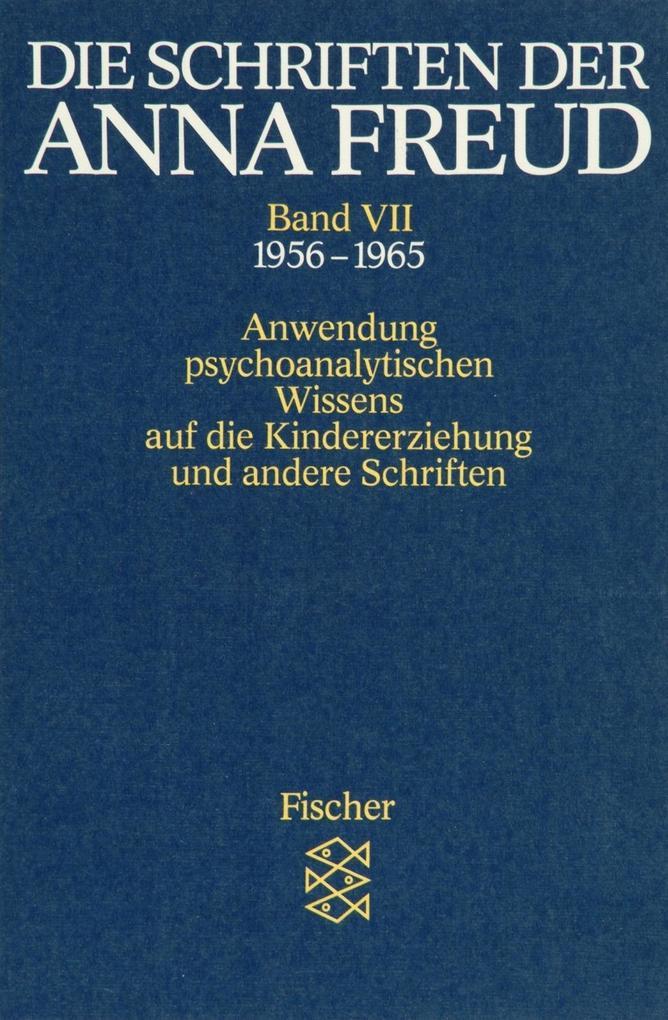 Die Schriften der Anna Freud 07 als Taschenbuch