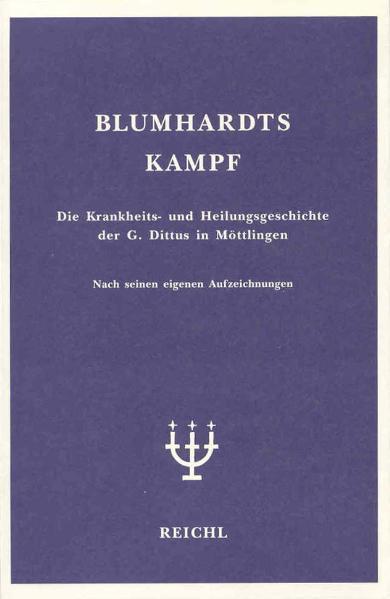 Blumhardts Kampf als Buch