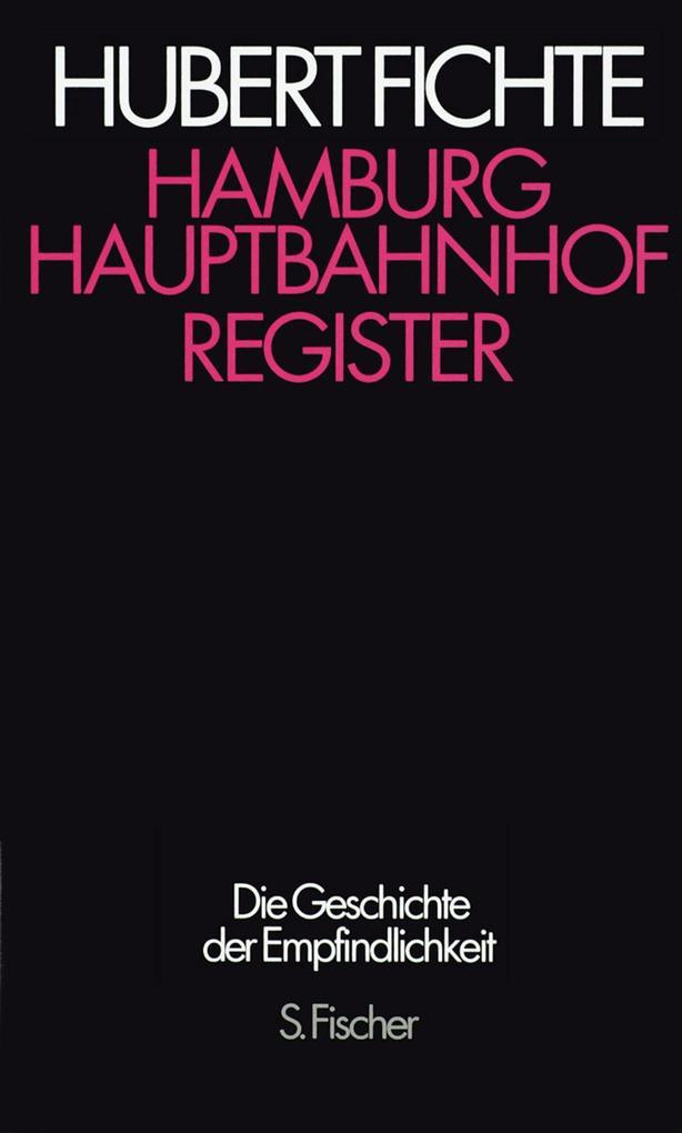 Hamburg Hauptbahnhof. Register als Buch