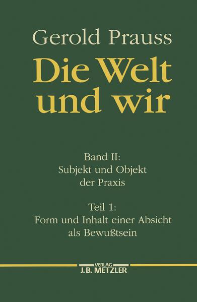 Subjekt und Objekt der Praxis 1 als Buch