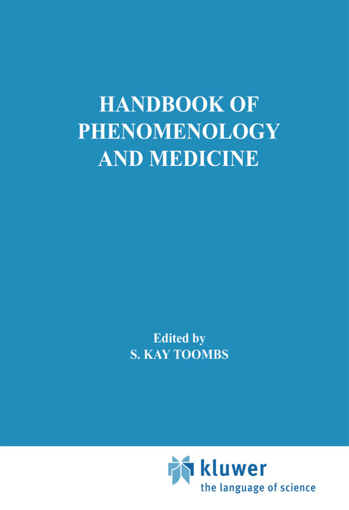 Handbook of Phenomenology and Medicine als Buch