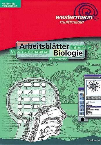 Arbeitsblätter Biologie, 1 CD-ROM als Software