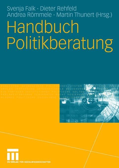 Handbuch Politikberatung als Buch