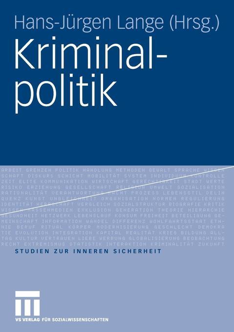 Kriminalpolitik als Buch