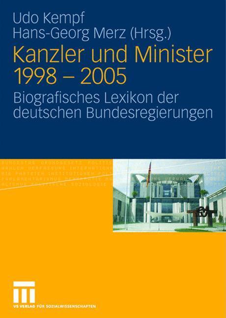 Kanzler und Minister 1998 - 2005 als Buch