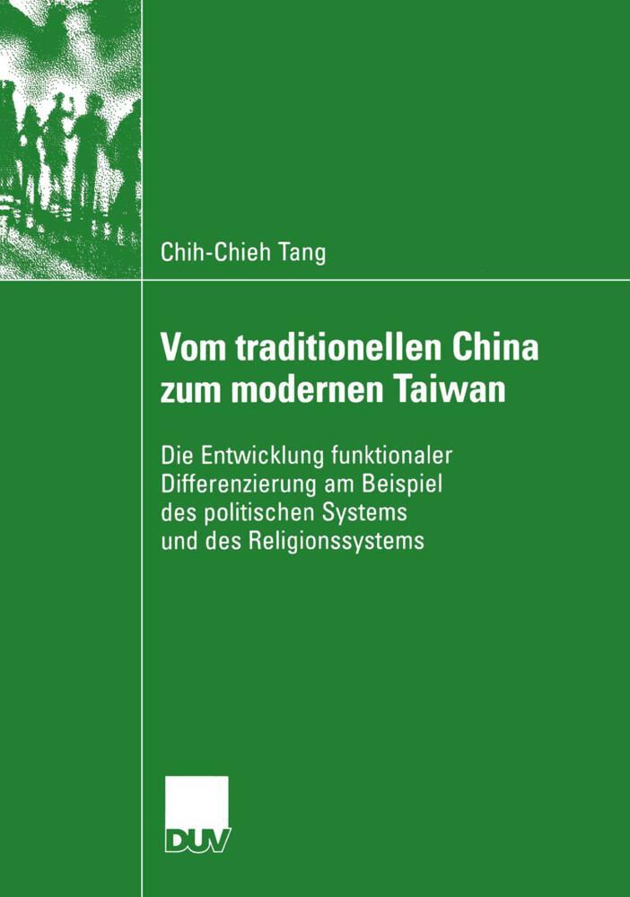 Vom traditionellen China zum modernen Taiwan als Buch