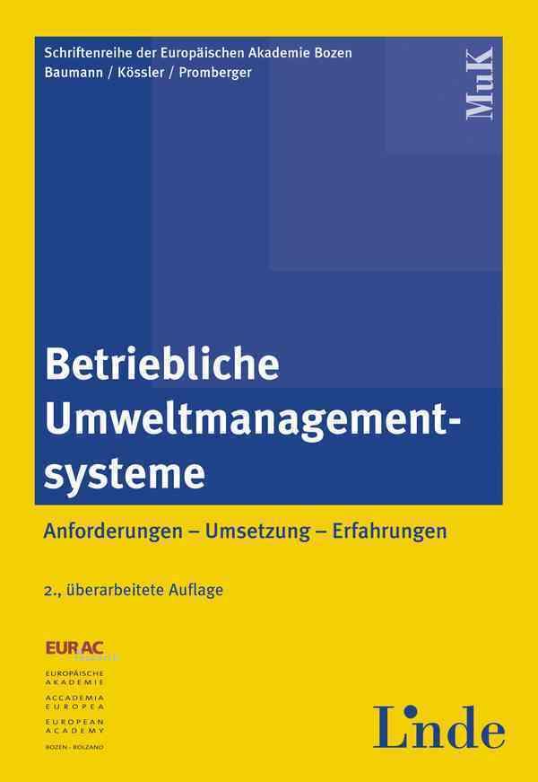 Betriebliche Umweltmanagementsysteme als Buch
