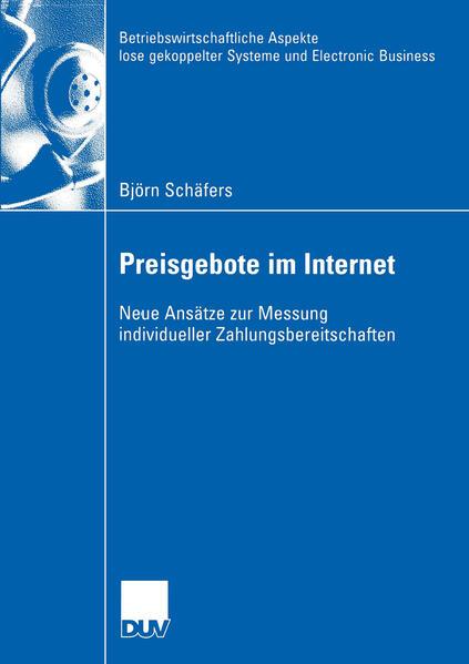 Preisgebote im Internet als Buch