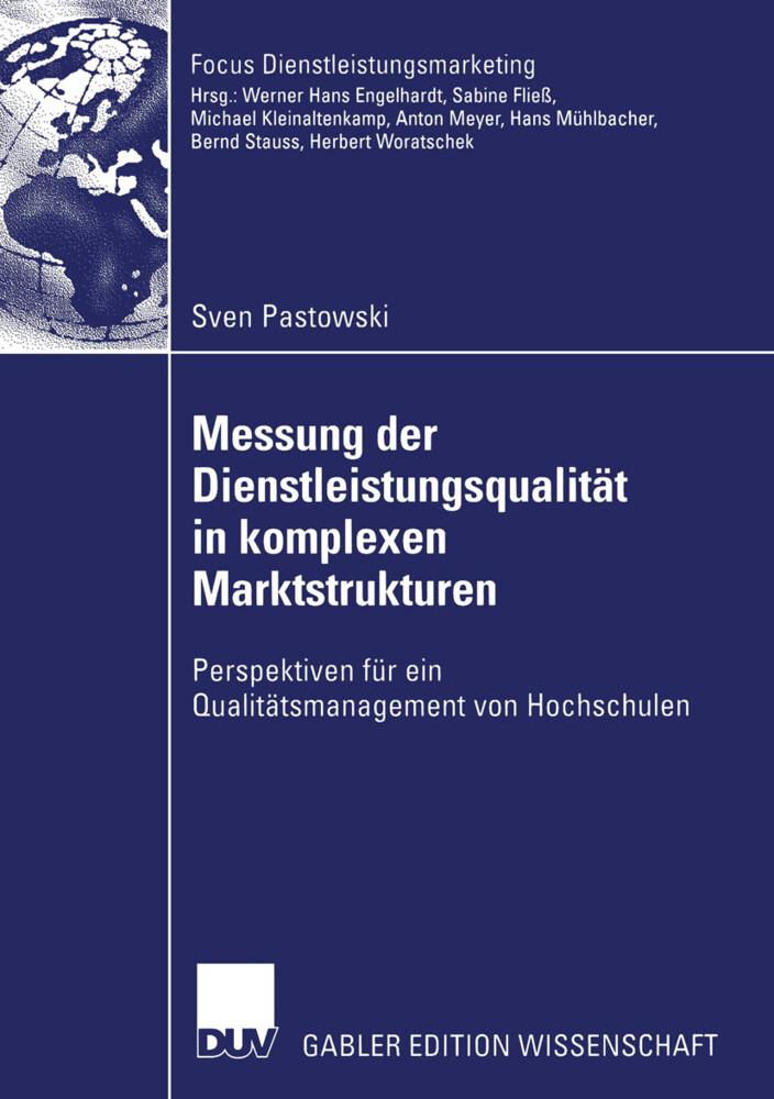 Messung der Dienstleistungsqualität in komplexen Marktstrukturen als Buch
