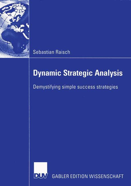 Dynamic Strategic Analysis als Buch