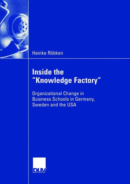 """Inside the """"Knowledge Factory"""" als Buch"""