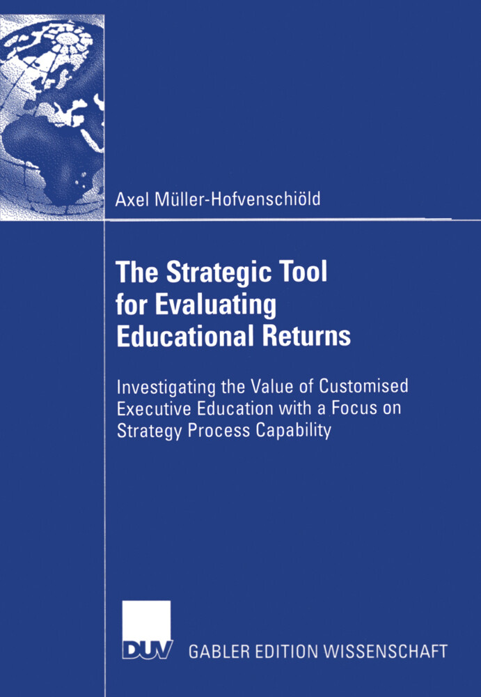 The Strategic Tool for Evaluating Educational Returns als Buch