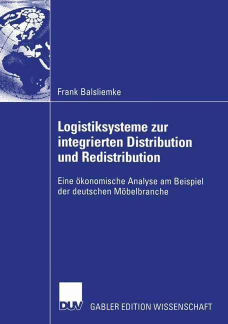 Logistiksysteme zur integrierten Distribution und Redistribution als Buch