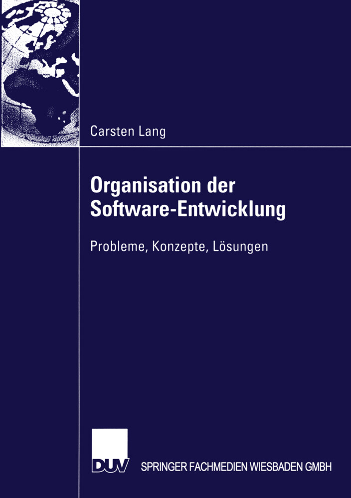 Organisation der Software-Entwicklung als Buch