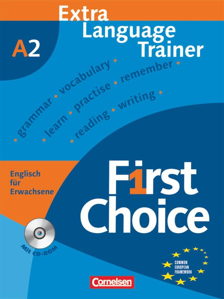 First Choice 2. Extra Language Trainer als Buch