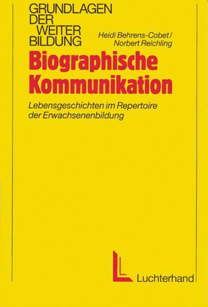 Biographische Kommunikation als Buch