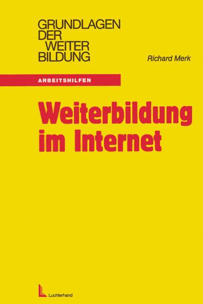 Weiterbildung im Internet als Buch