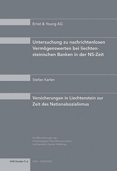 Versicherungen in Liechtenstein zur Zeit des Nationalsozialismus als Buch