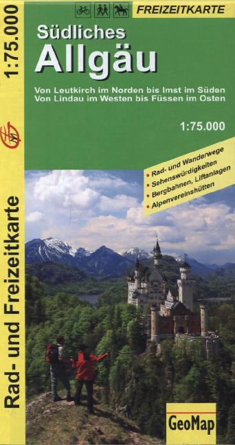 Südliches Allgäu 1 : 75 000 als Buch