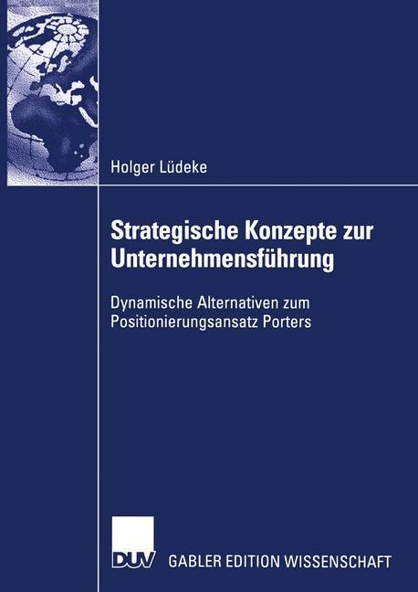 Strategische Konzepte zur Unternehmensführung als Buch