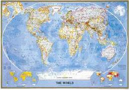 Swiat Polityczny Classic mapa scienna als Buch