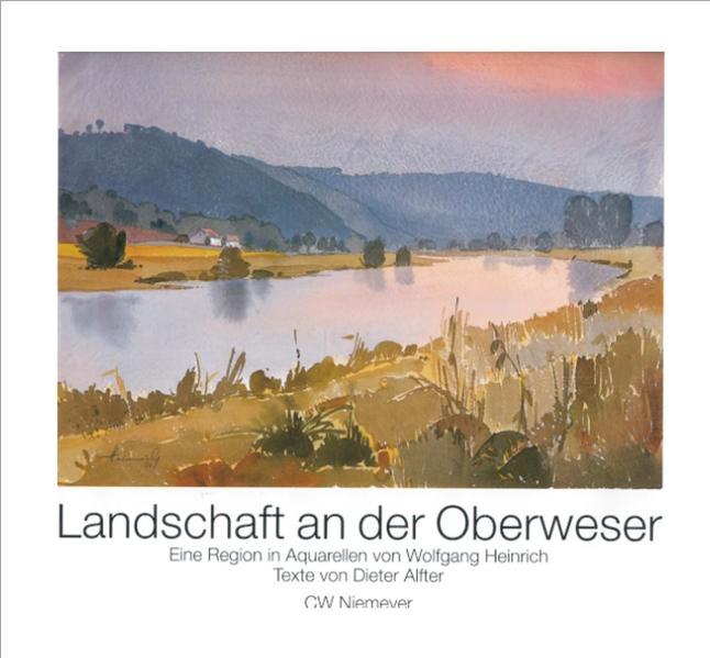 Landschaft an der Oberweser als Buch