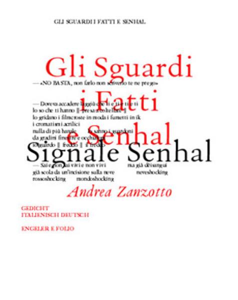 Planet Beltà / Gli Sguardi i Fatti e Senhal /Signale Senhal als Buch