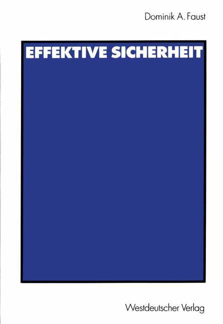 Effektive Sicherheit als Buch