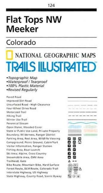 Trails Illustrated - Colorado-Flt Tps NW/Meeker als Spielwaren