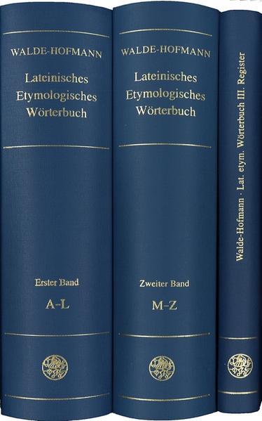 Lateinisches Etymologisches Wörterbuch. Registerband als Buch