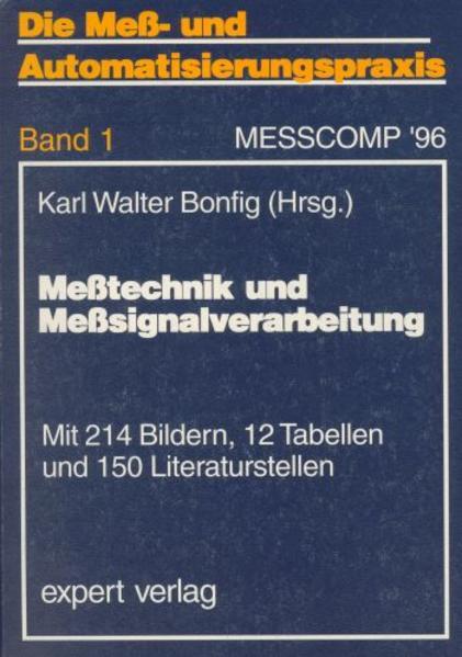 Meßtechnik und Meßsignalverarbeitung als Buch