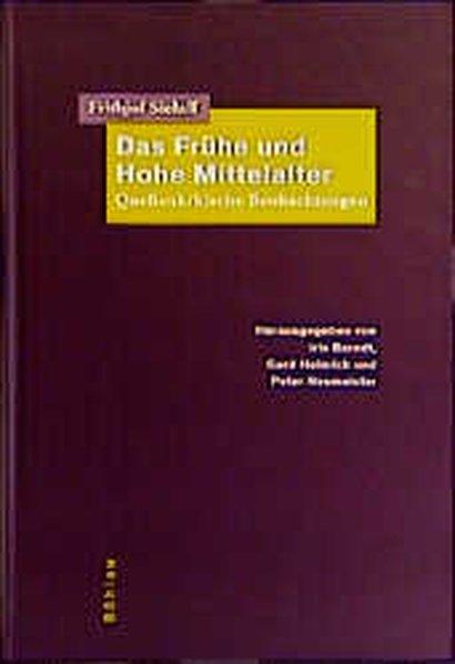 Das Frühe und Hohe Mittelalter als Buch