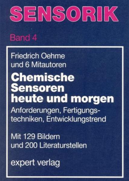 Chemische Sensoren heute und morgen als Buch