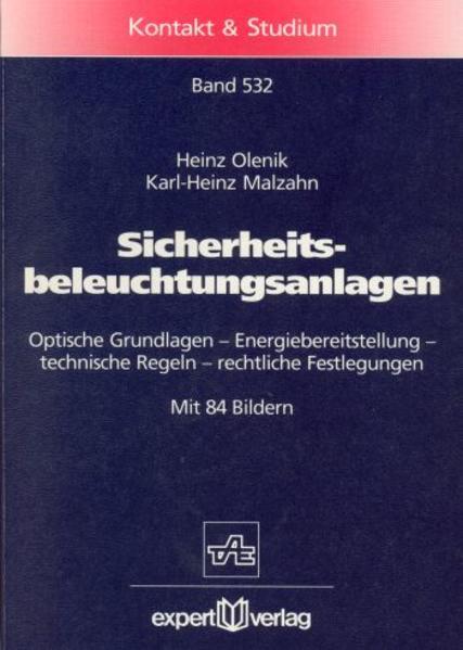 Sicherheitsbeleuchtungsanlagen als Buch