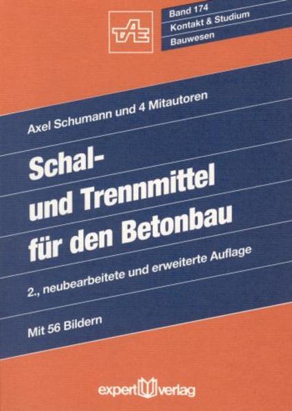 Schal- und Trennmittel für den Betonbau als Buch