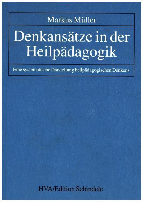 Denkansätze in der Heilpädagogik als Buch