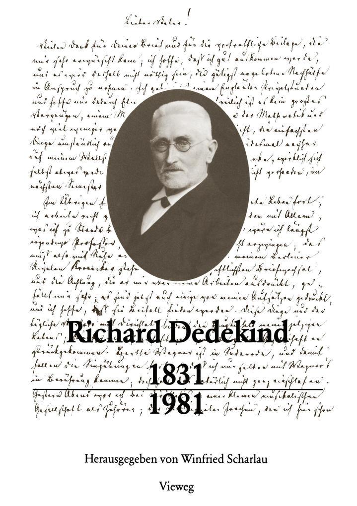 Richard Dedekind 1831 - 1981 als Buch