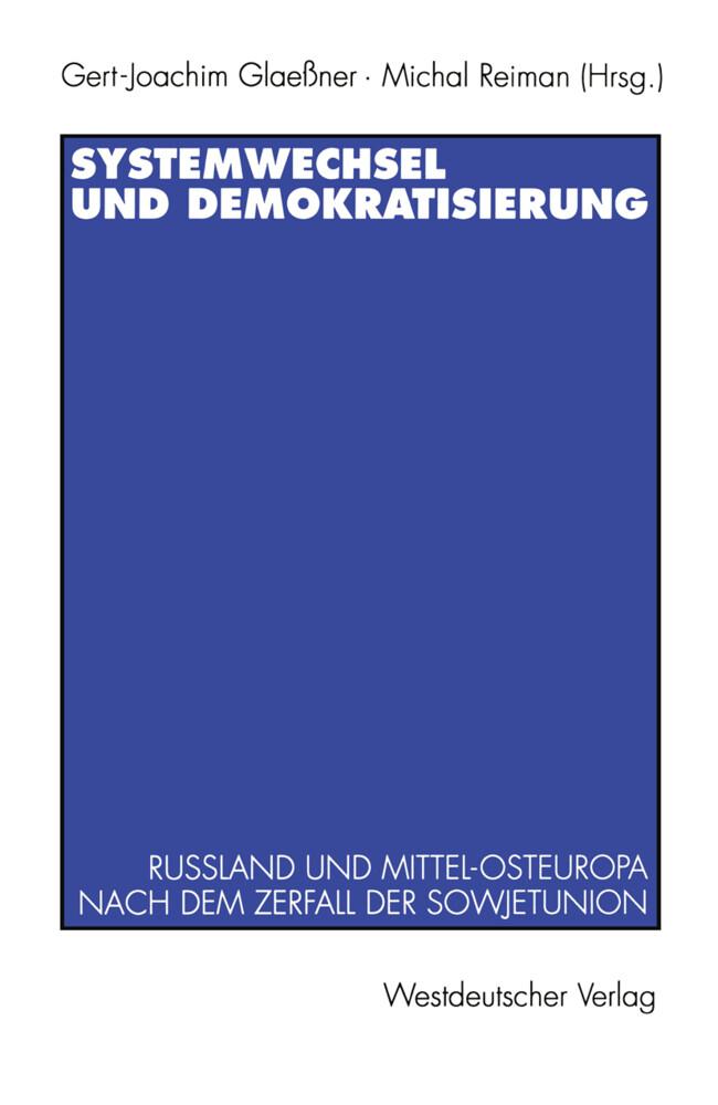 Systemwechsel und Demokratisierung als Buch von