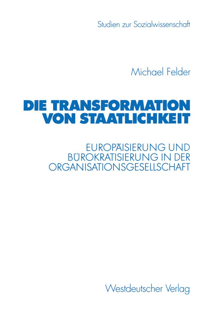 Die Transformation von Staatlichkeit als Buch