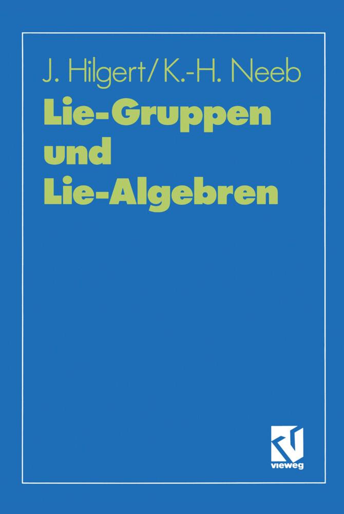 Lie-Gruppen und Lie-Algebren als Buch